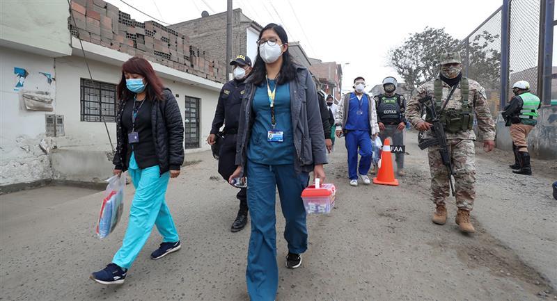 Gobierno anunció nuevas medidas por incremento de infectados. Foto: Andina Jhonel Rodríguez Robles