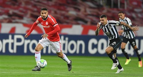 Paolo Guerrero: así fue el gol del peruano ante Santos por el Brasileirao