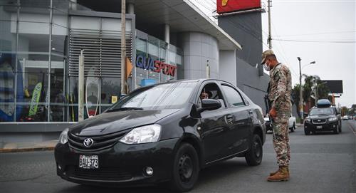 Perú: nuevo pase vehicular para personas que se movilicen los domingos