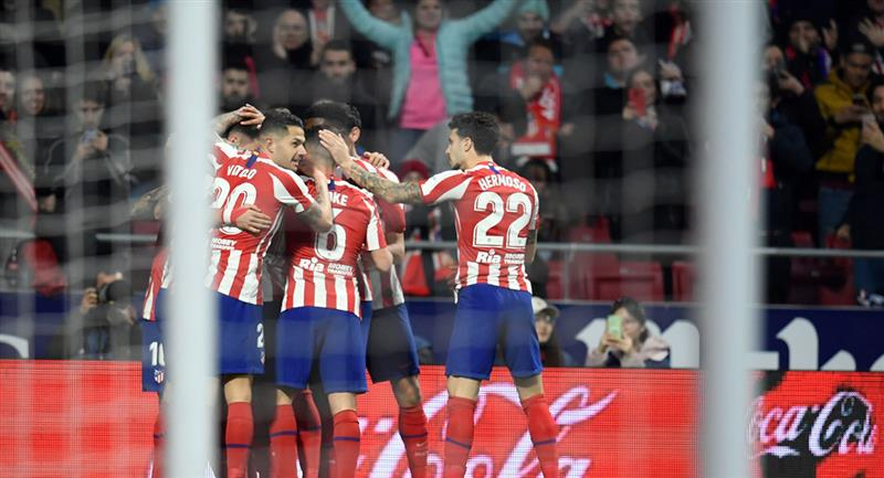 Atlético de Madrid es el gran favorito para entrar a semifinales de Champions. Foto: Andina