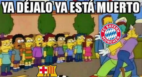 Barcelona vs Bayern Múnich: memes del partido tras goleada