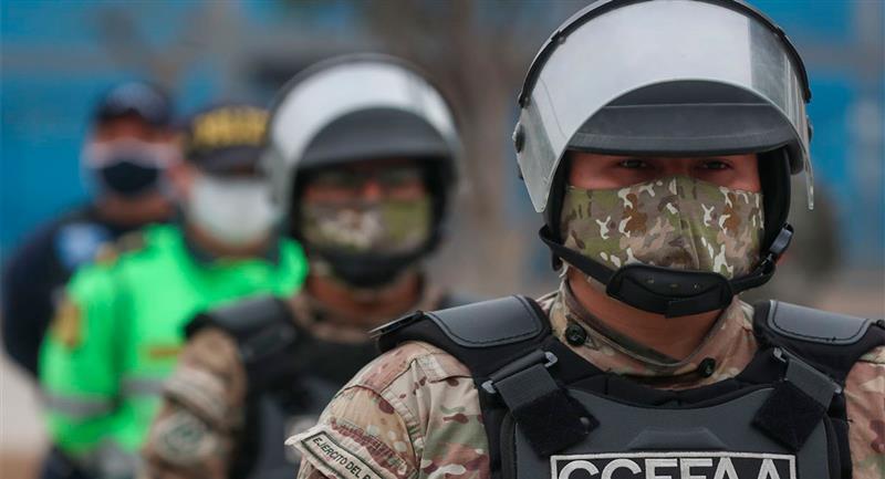 Policía Nacional aplicará multas a los que infringen normas en estado de emergencia. Foto: Andina