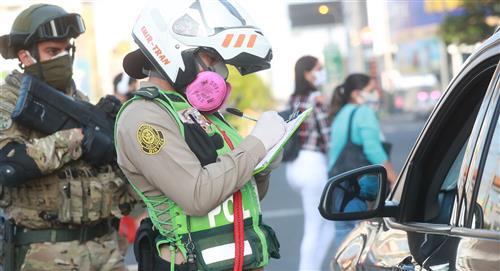 PNP retendrá brevete y multará con 6,450 soles a conductores sin autorización los domingos
