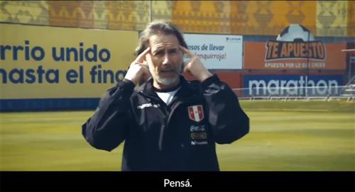 Ricardo Gareca y el mensaje a los hinchas para que disfruten el fútbol desde casa