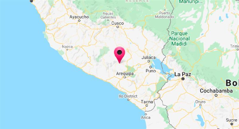 Arequipa registró un sismo de 4.5 de magnitud. Foto: Twitter @DHN_peru