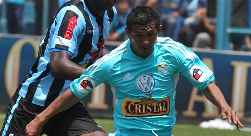 William Chiroque comparó a Cristal con Real Madrid. Foto: Andina