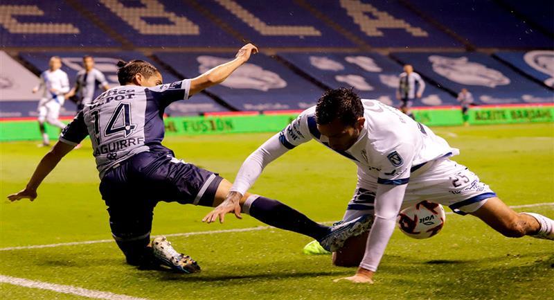 Puebla volvió a caer en el Torneo Guard1anes. Foto: EFE