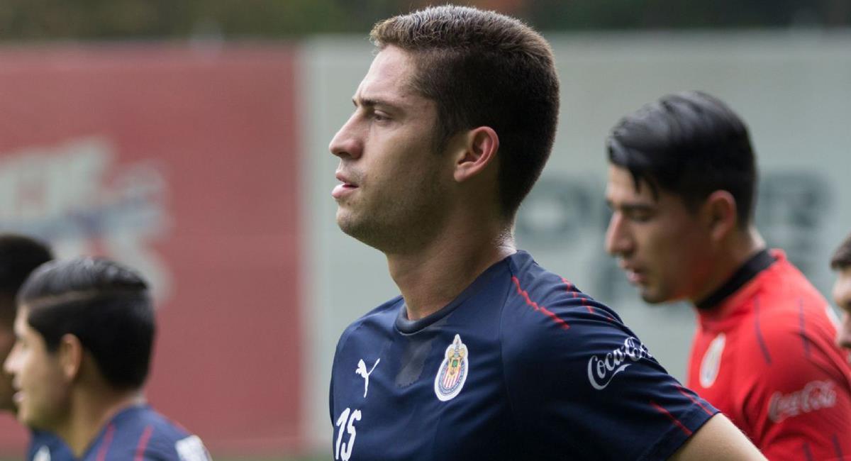 Santiago Ormeño de 26 años juega actualmente en e Puebla. Foto: Twitter Difusión