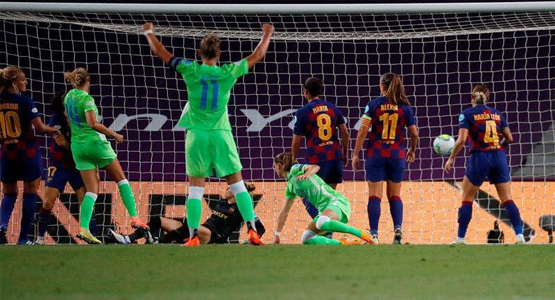 Wolfsburgo se metió en la final de la Champions femenina. Foto: EFE