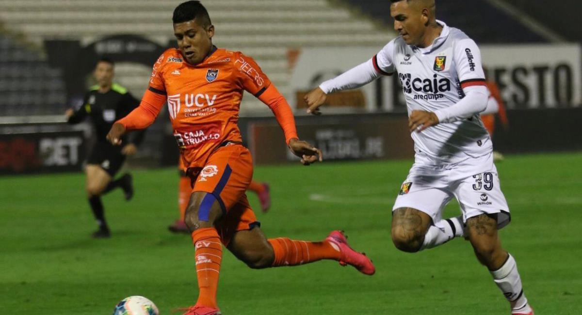 Raziel García juega actualmente en la César Vallejo. Foto: Twitter Liga de Fútbol Profesional