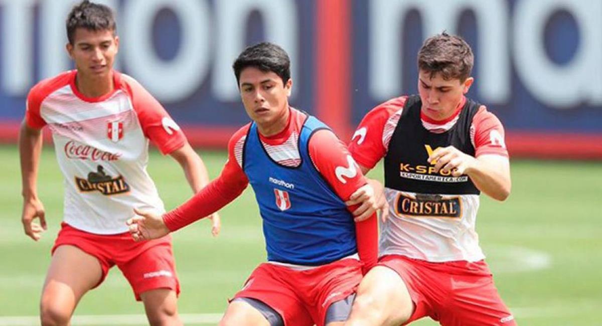 Selección Peruana Sub 20 hará de sparring. Foto: Twitter Difusión