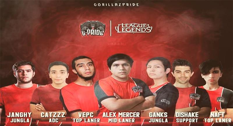 G-Pride, campeón peruano de League of Legends. Foto: Facebook @Gorillazpride