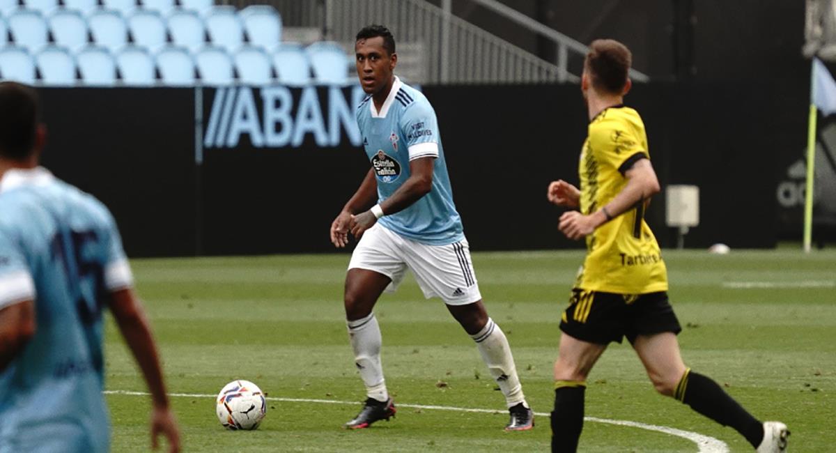 Renato Tapia jugará por primera vez en España. Foto: Página Web Celta de Vigo