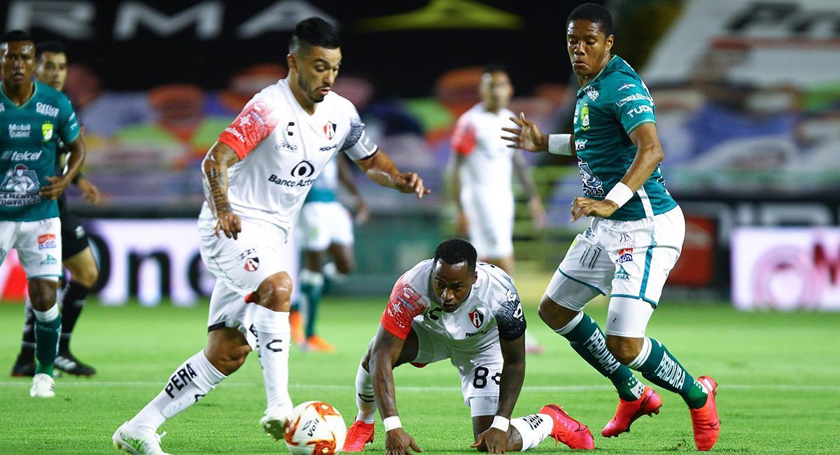 Pedro Aquino jugó 92 minutos en León frente al Atlas. Foto: EFE