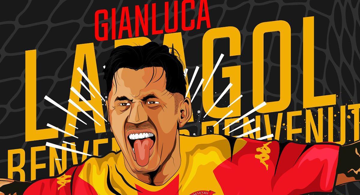 Gianluca Lapadula jugará las próximas dos temporadas por el Benevento. Foto: Twitter @bncalcio