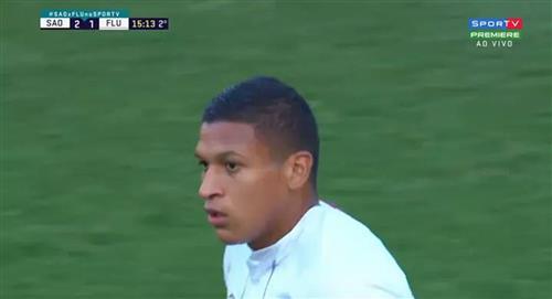 Con Fernando Pacheco, Fluminense cayó 3-1 de visita ante Sao Paulo por la fecha 8 del Brasileirao