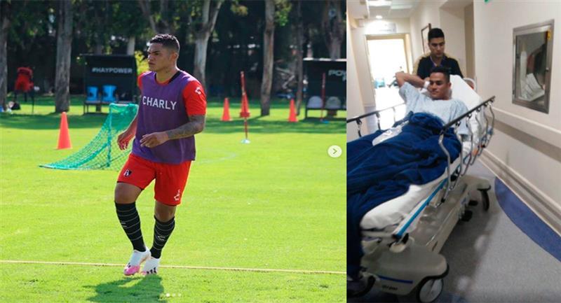 Anderson Santamaría volvió a hacer fútbol. Foto: Instagram @andersanta11