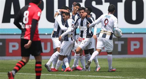 Melgar igualó 2-2 con Alianza Lima en el Estadio Alberto Gallardo por la fecha 10 de la Liga 1 del fútbol peruano