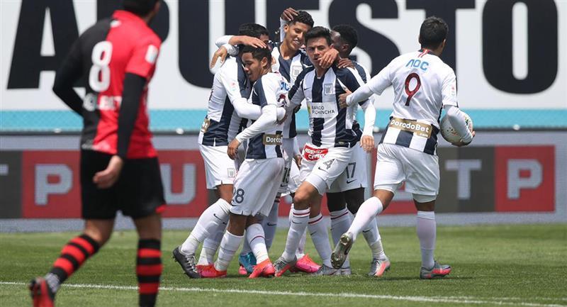 Miguel Cornejo igualó a los 92' para Alianza Lima. Foto: Prensa FPF