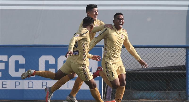 UTC logró marcar la diferencia en el Alberto Gallardo. Foto: Prensa FPF