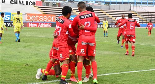 Sport Huancayo derrotó 1-0 a Carlos Stein por la fecha 10 de la Liga 1 del fútbol peruano