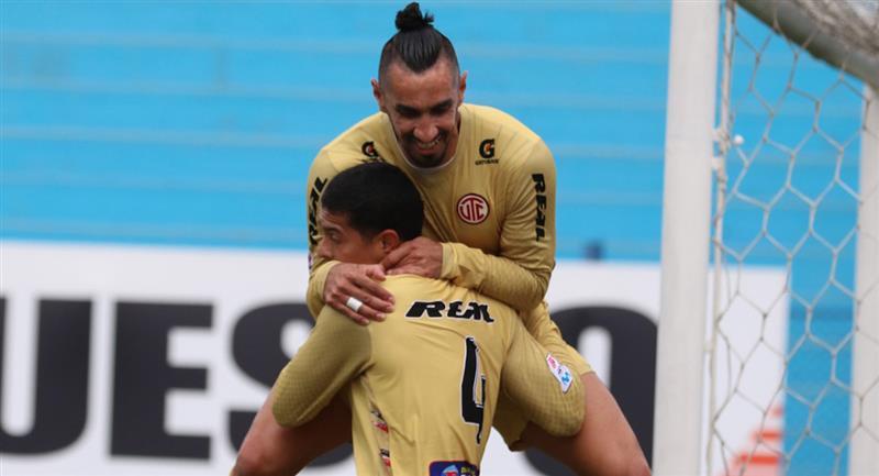 UTC venció a Alianza Lima con goles de Aparicio y Guevgeozián. Foto: Prensa FPF