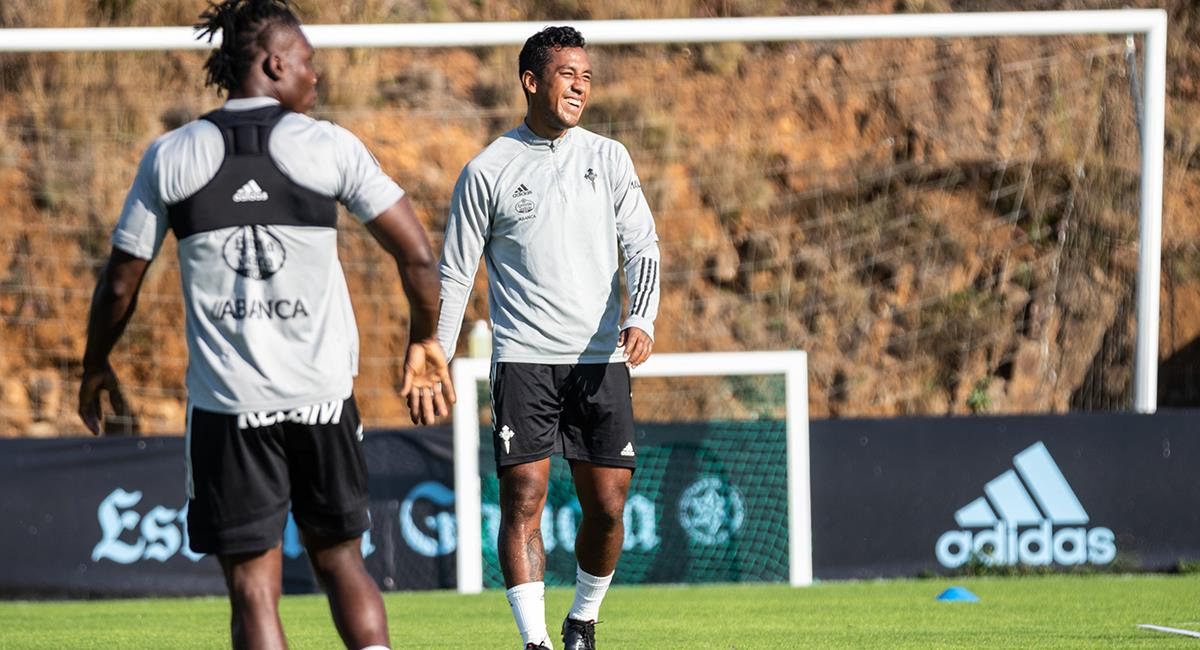 Renato Tapia convocado por Celta. Foto: Twitter Celta de Vigo