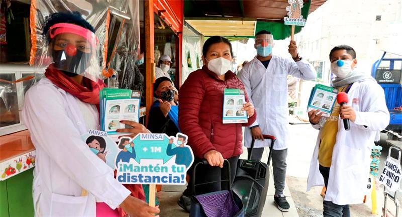 6787 nuevos casos de coronavirus se registraron en Perú. Foto: Twitter @Minsa_Peru