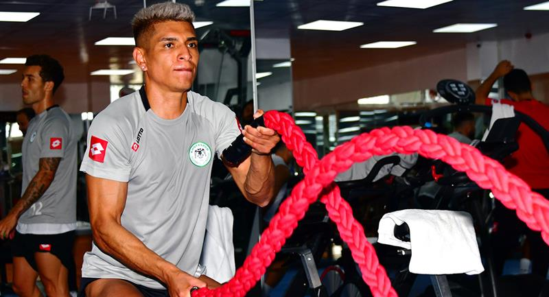 Paolo Hurtado realizó trabajos en gimnasio. Foto: Twitter @konyaspor