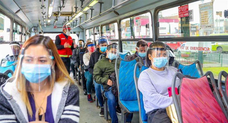 Se suspende inmovilización social obligatoria los días domingos. Foto: Andina