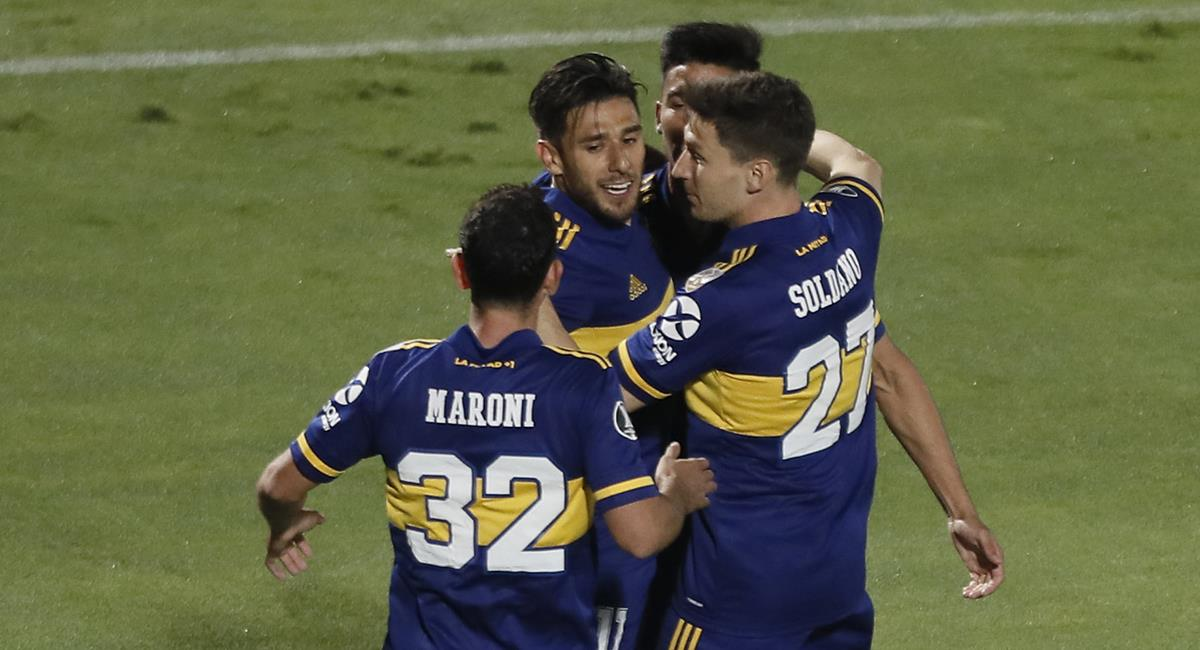 Boca ganó con doblete de Salvio. Foto: Twitter Boca Juniors