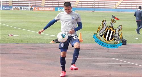 Rodrigo Vilca cerca de fichar por Newcastle, según la prensa inglesa