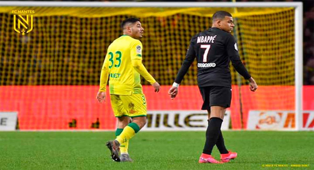 Percy Prado no es más jugador del Nantes. Foto: Twitter @FCNantes