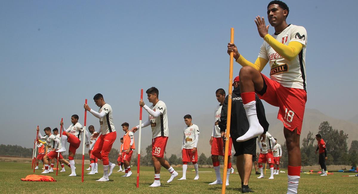 Selección Peruana Sub 20 sigue trabajando de cara al Sudamericano. Foto: Prensa FPF