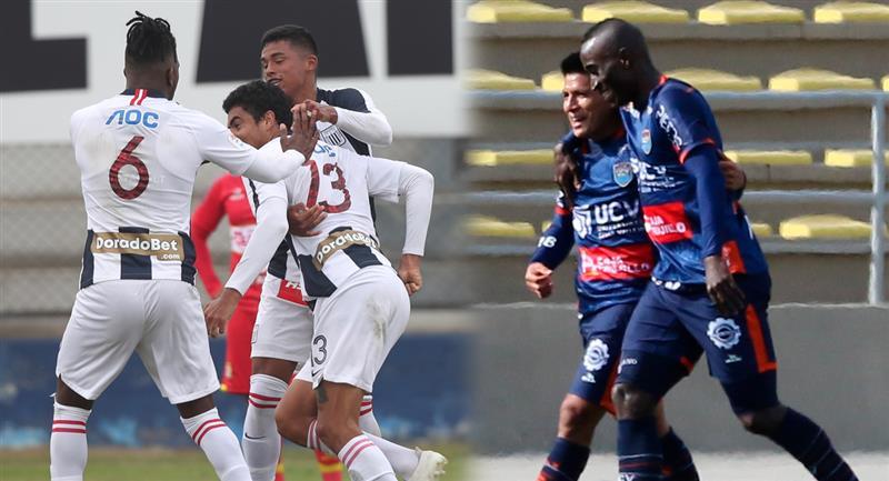 Alianza Lima y César Vallejo juegan en el Gallardo. Foto: Prensa FPF