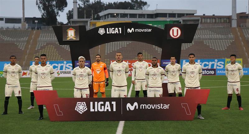 Universitario es líder de la Liga 1. Foto: Prensa FPF