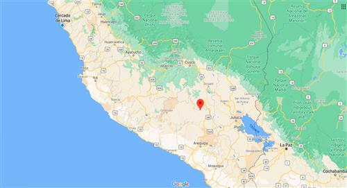 Temblor de 4.6 de magnitud sacude Espinar, en Cusco