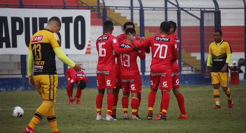 Sport Huancayo venció a Cantolao en VES. Foto: Twitter @LigaFutProf
