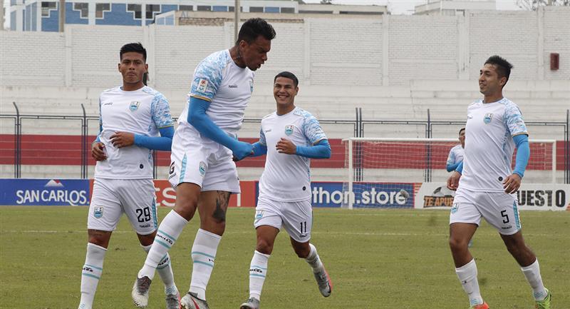 Deportivo Llacuabamba buscará un triunfo que le permita resurgir. Foto: Prensa FPF