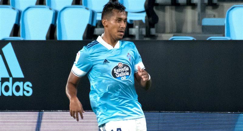 Renato Tapia ha sido titular en las primeras dos jornadas de LaLiga con el Celta. Foto: Twitter @RCCelta