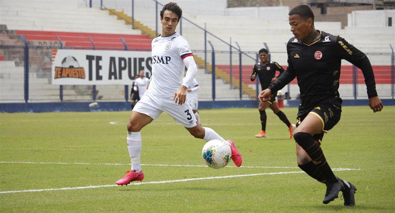 San Martín y UTC igualaron en el Iván Elías Moreno. Foto: Prensa FPF