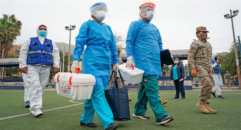 3650 nuevos casos de coronavirus se registraron en Perú. Foto: Twitter @Minsa_Peru