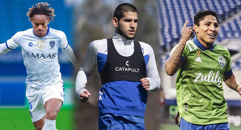 Conoce a los jugadores peruanos más valiosos. Foto: Twitter Al Hilal / Vélez / Seattle Sounders