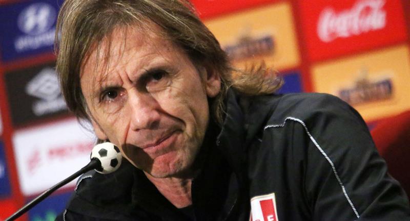 Ricardo dará lista de convocados para duelos con Paraguay y Brasil. Foto: Twitter Difusión