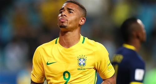 Selección Peruana: Brasil desconvocó a Gabriel Jesús por lesión para inicio de Eliminatorias
