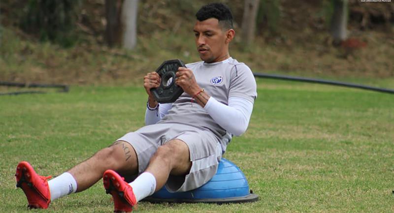 David Dioses es una de los nuevos nombres en la 'Bicolor'. Foto: Facebook Deportivo Municipal