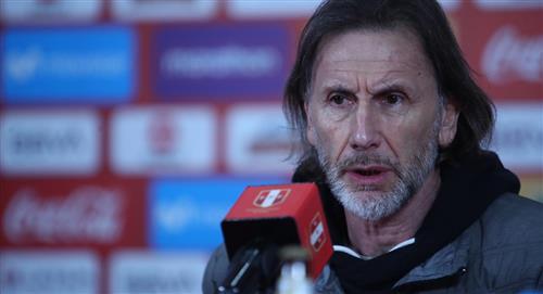 Selección Peruana: Ricardo Gareca se refirió a jugadores convocados y con inactividad futbolística