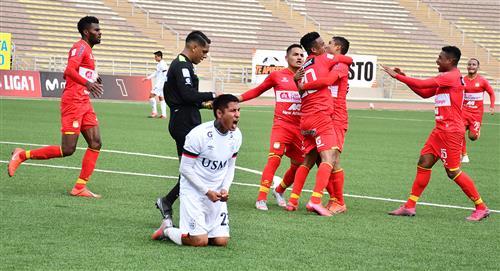 Sport Huancayo vs San Martín: goles del triunfo y remontada del