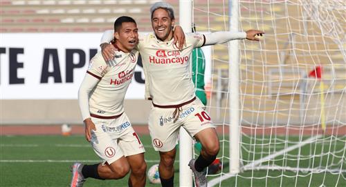 Universitario venció 2-0 a Atlético Grau por la fecha 14 de la Liga 1 del fútbol peruano
