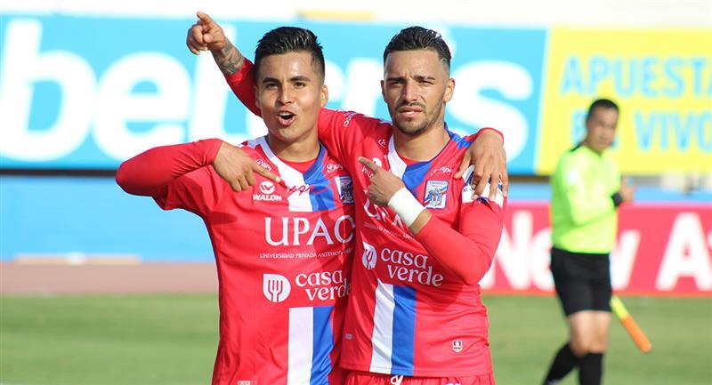 Patricio Arce anotó el único tanto del partido. Foto: Prensa FPF